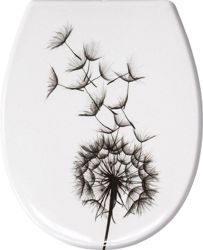 WC-Sitz »Pusteblume« in weiß