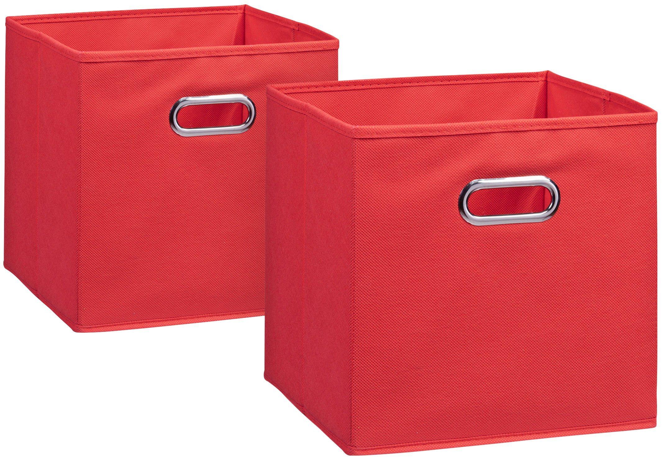 Aufbewahrungsbox »2er Set«, 28 x 28 cm | Dekoration > Aufbewahrung und Ordnung > Kästchen | zeller present