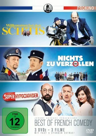 DVD »Best of French Comedy (3 Discs)«