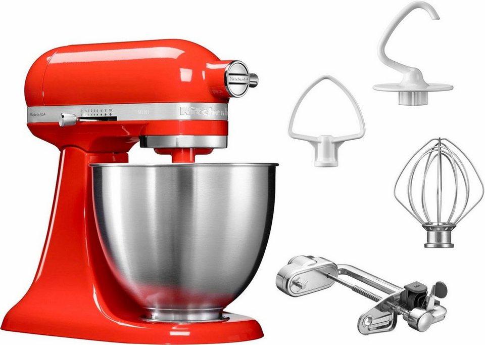 KitchenAid® Küchenmaschine Mini 5KSM3311XEHT, mit Sonderzubehör im Wert von 139,-€ UVP in rot