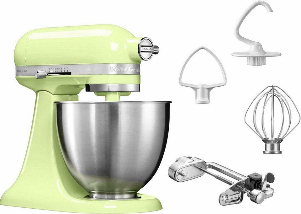 KitchenAid® Küchenmaschine Mini 5KSM3311XEHW, mit Sonderzubehör im Wert von 139,-€ UVP in grün