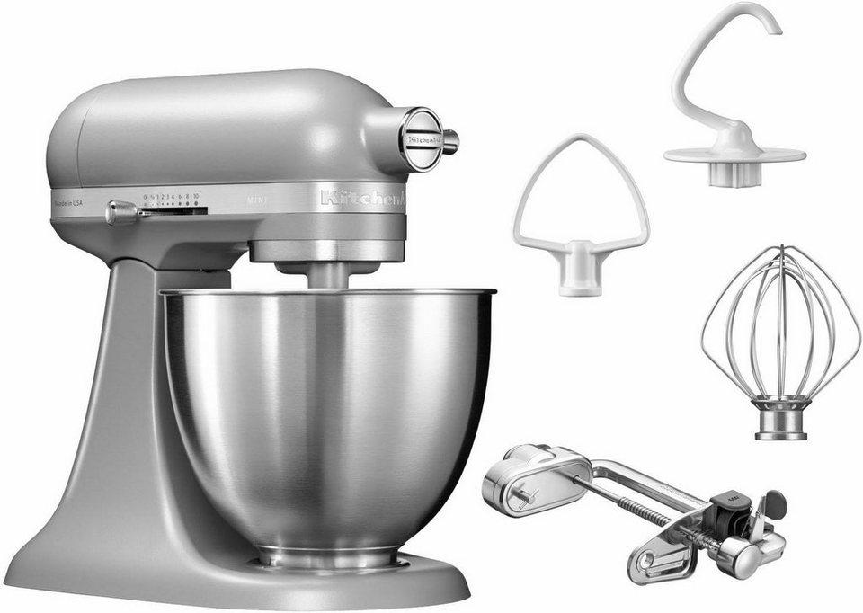 KitchenAid® Küchenmaschine Mini 5KSM3311XEFG, mit Sonderzubehör im Wert von 139,-€ UVP in matt grau