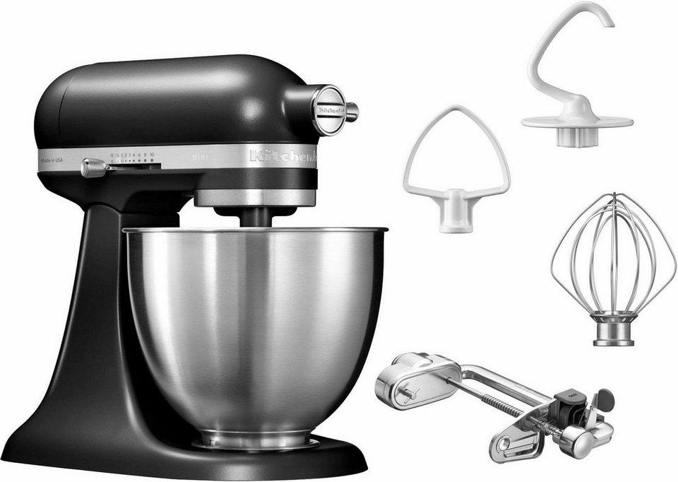 KitchenAid® Küchenmaschine Mini 5KSM3311XEBM, mit Sonderzubehör im Wert von 139,-€ UVP in matt schwarz