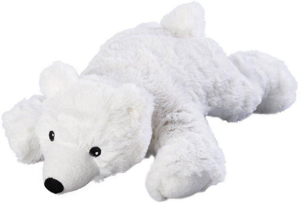 Warmies® Wärmekissen, »Eisbär« in weiß