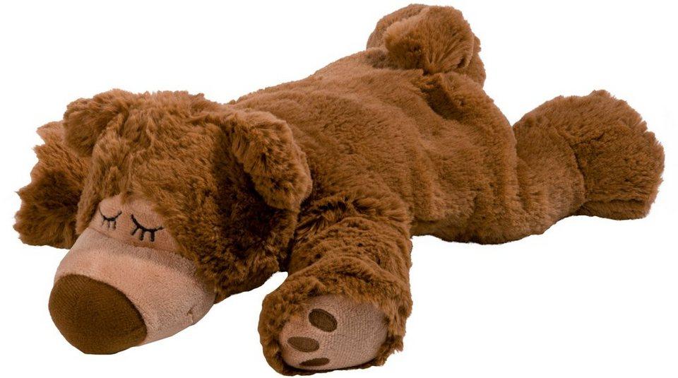 Warmies® Wärmekissen, »Sleepy Bear braun, Kräuter« in braun