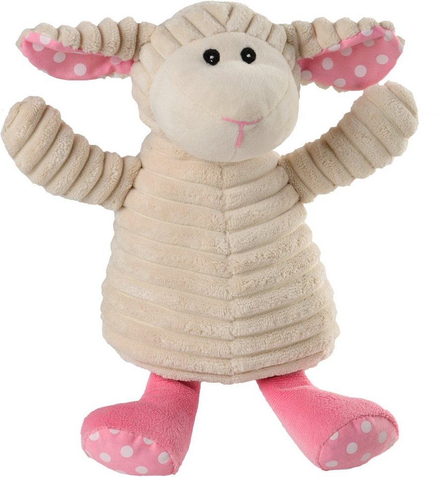 Warmies® Wärmekissen, »Pure Schaf Pünktchen« in rosa/weiß