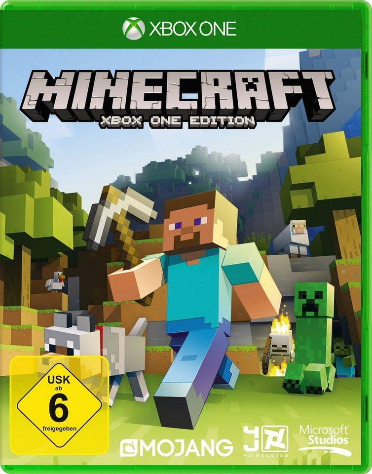 Microsoft Software Pyramide - Xbox One Spiel »Minecraft«