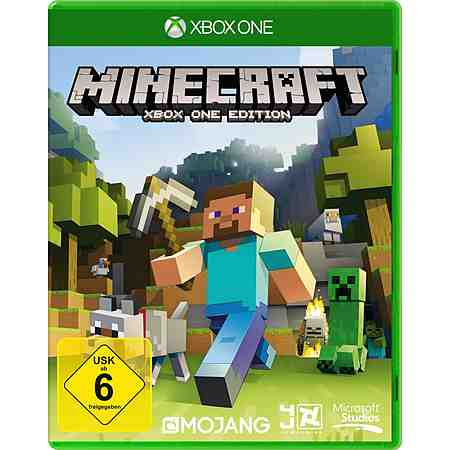 Microsoft Software Pyramide - Xbox One Spiel »Minecraft«