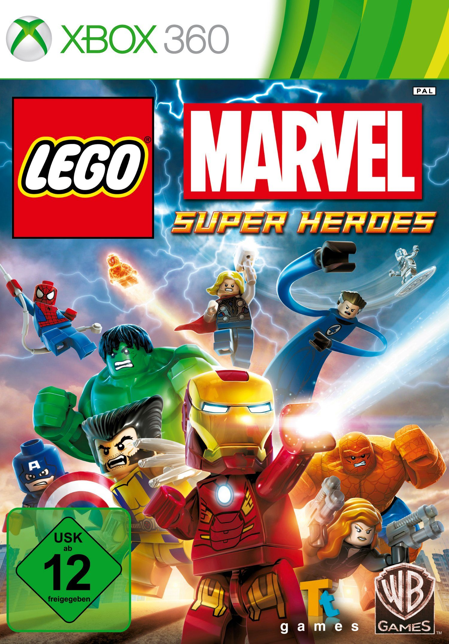 Warner Games Software Pyramide - Xbox 360 Spiel »LEGO Marvel Super Heroes«