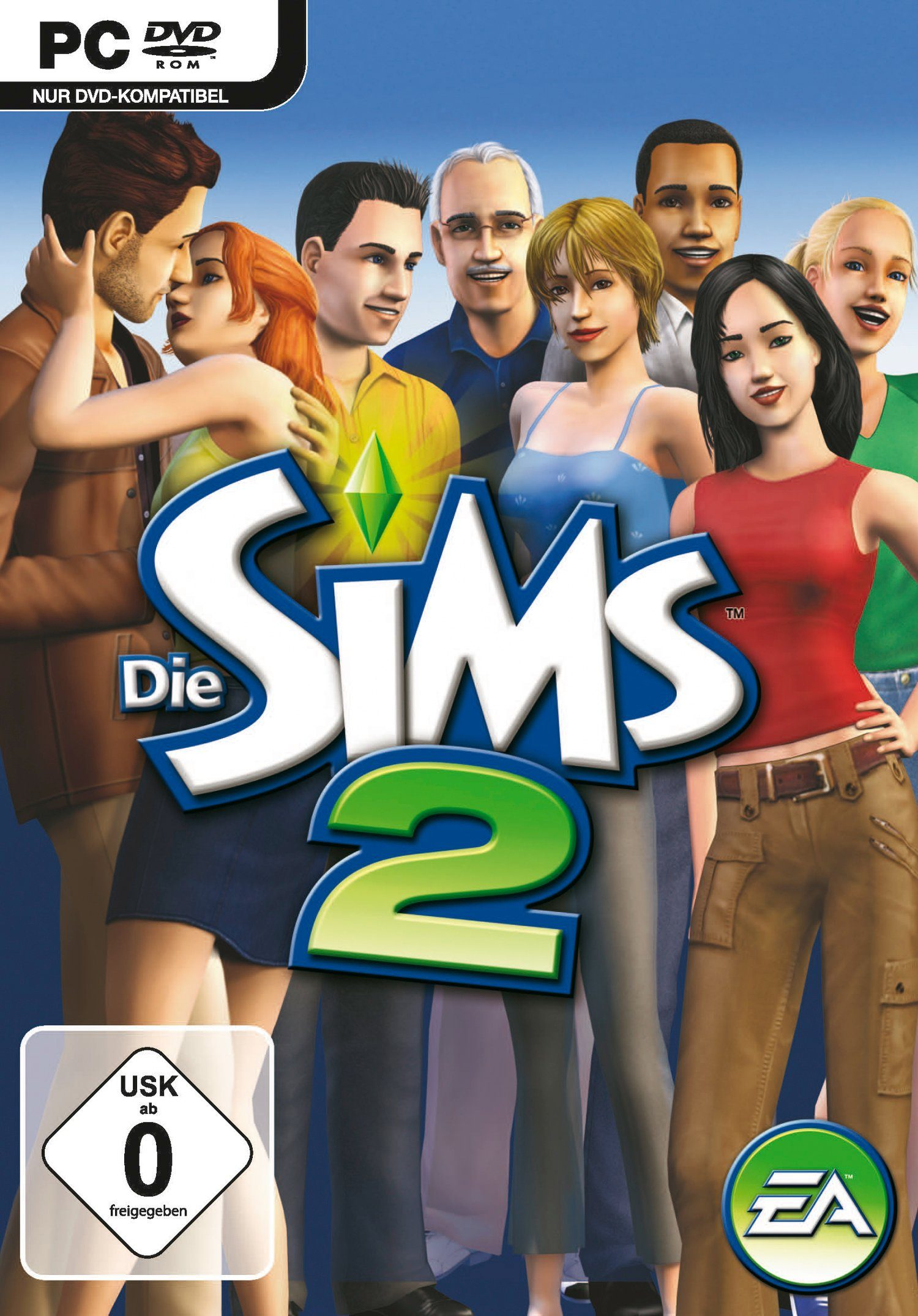 Electronic Arts Software Pyramide - PC Spiel »Die Sims 2«