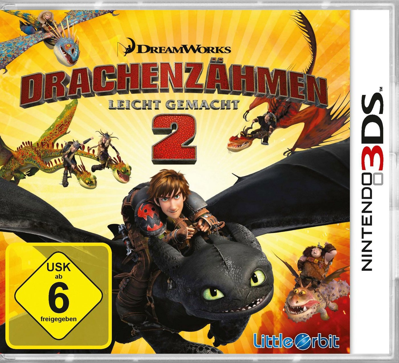 BANDAI NAMCO Software Pyramide - Nintendo 3DS Spiel »Drachenzähmen leicht gemacht 2« - Preisvergleich