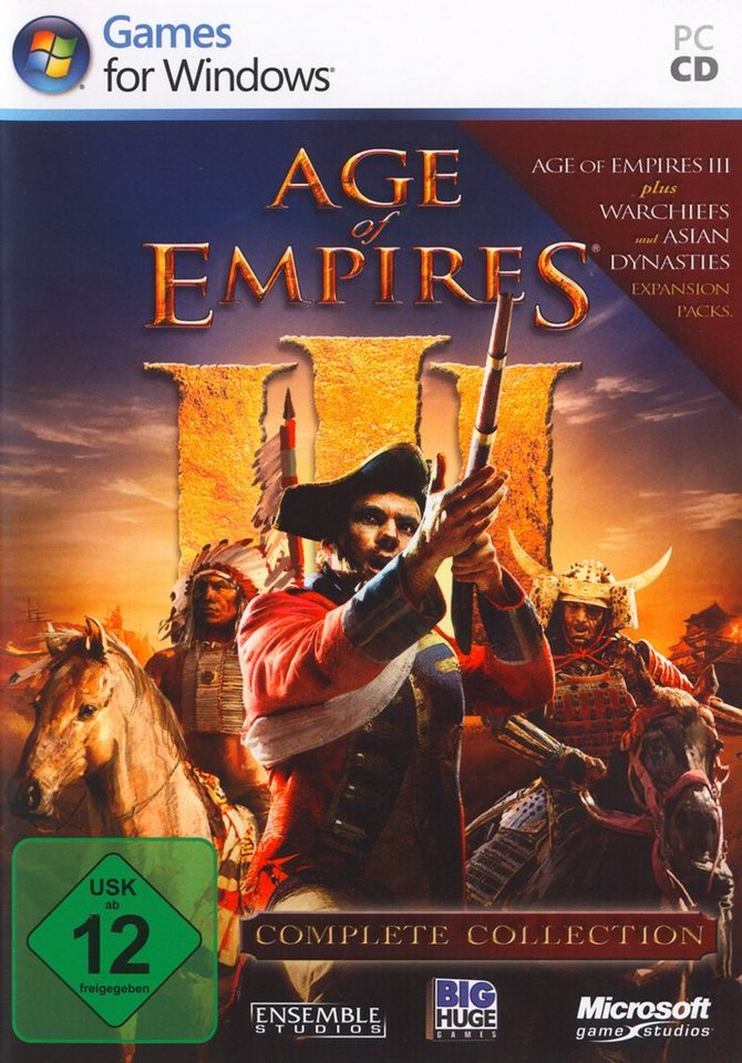 Microsoft Software Pyramide - PC Spiel »Age of Empires III Complete Collection«