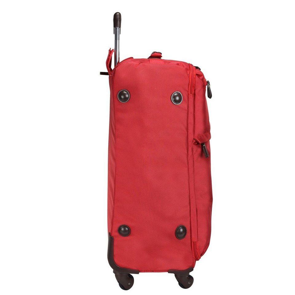 Bric's X-Travel 4-Rollen Trolley 77 cm in red