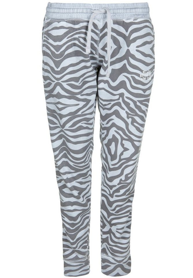 Better Rich Sweathose »PANT ZEBRA« in highrise