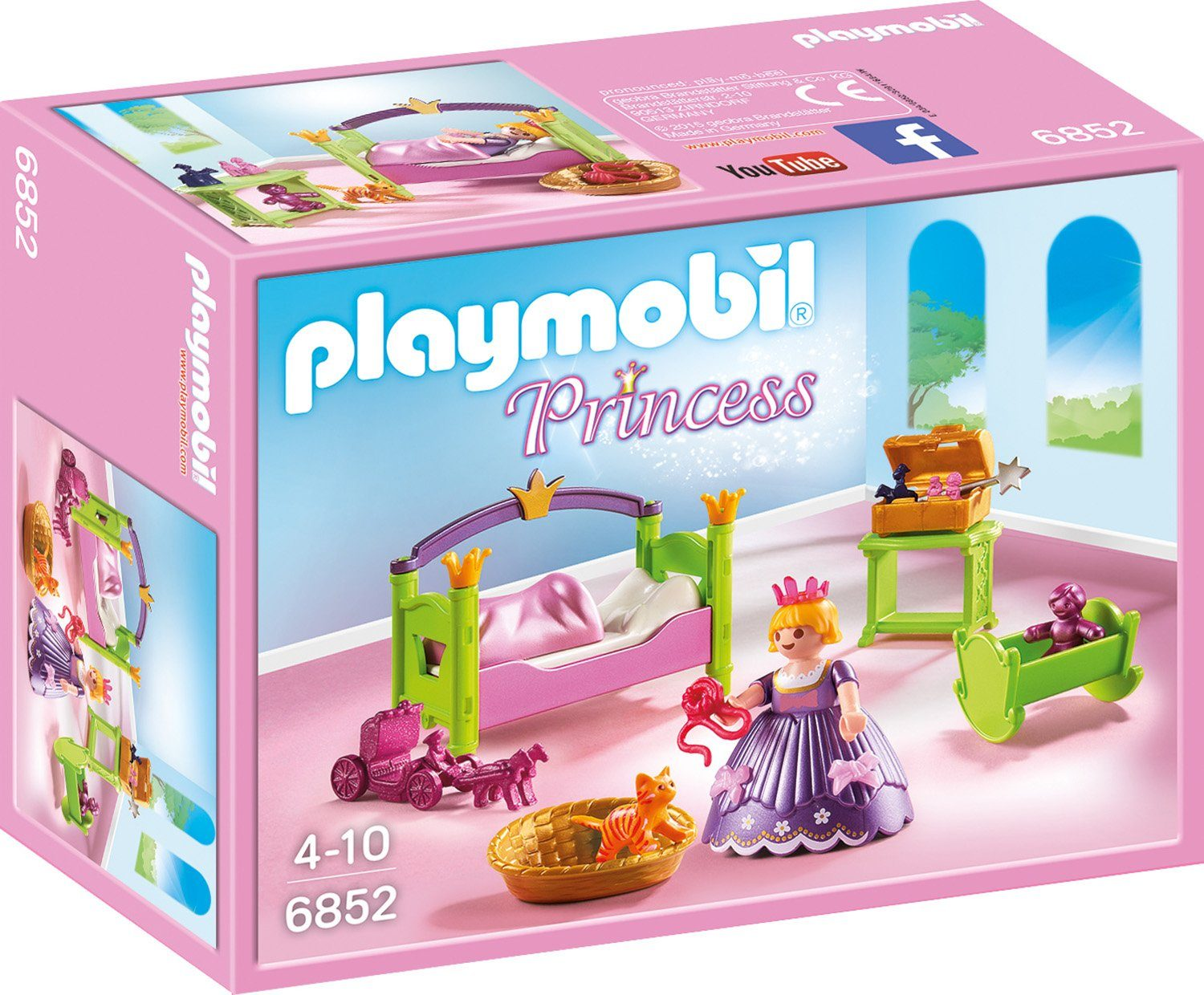 Playmobil® Prinzessinnen Kinderzimmer (6852), »Princess«