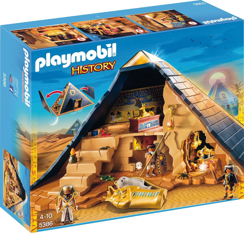 Playmobil® Pyramide des Pharao (5386), »History«