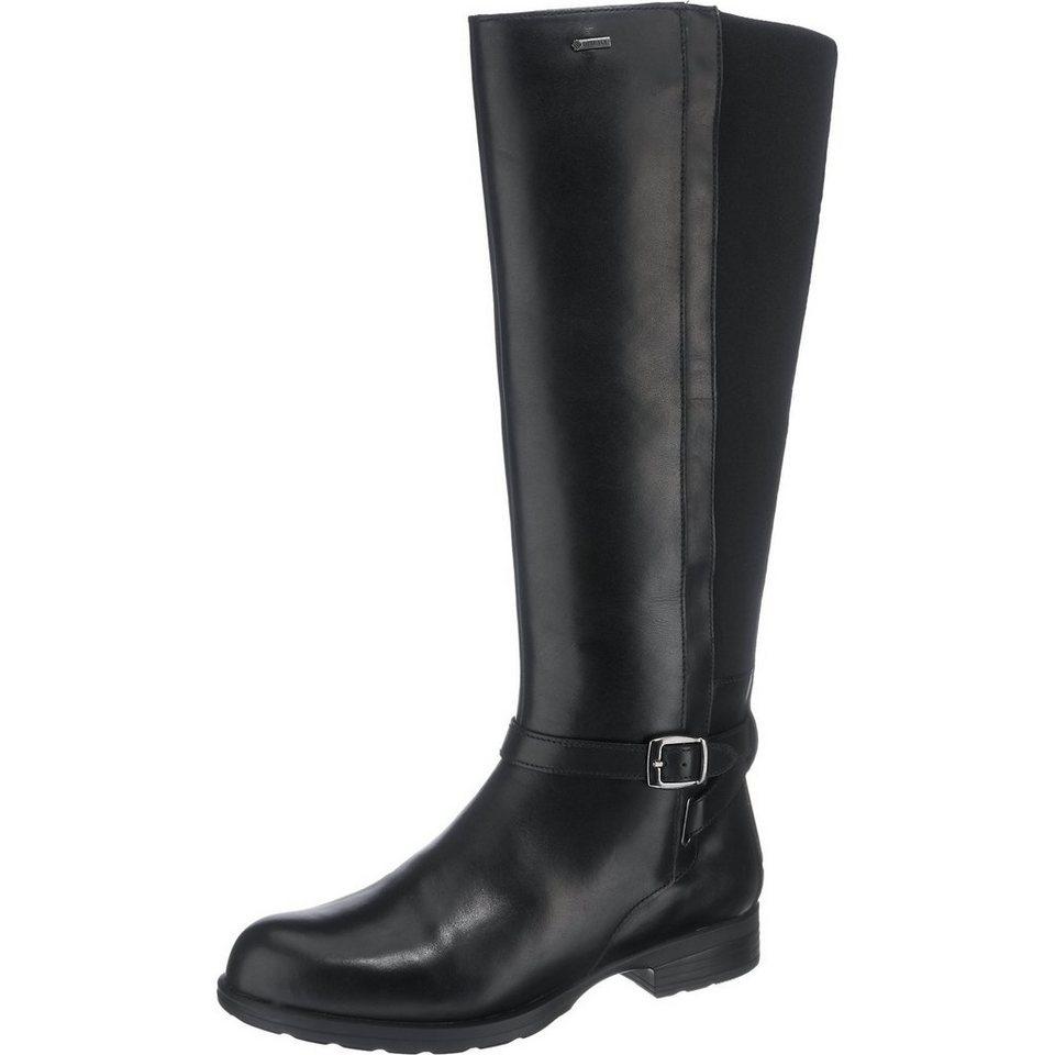 Clarks Cheshunt Stiefel in schwarz