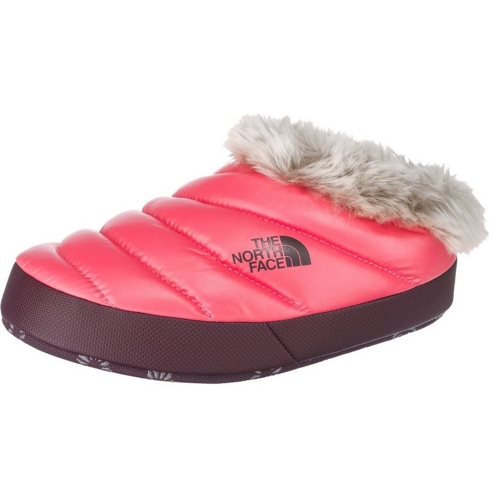 THE NORTH FACE Nse Tent Mule Faux Fur II Hausschuhe in pink