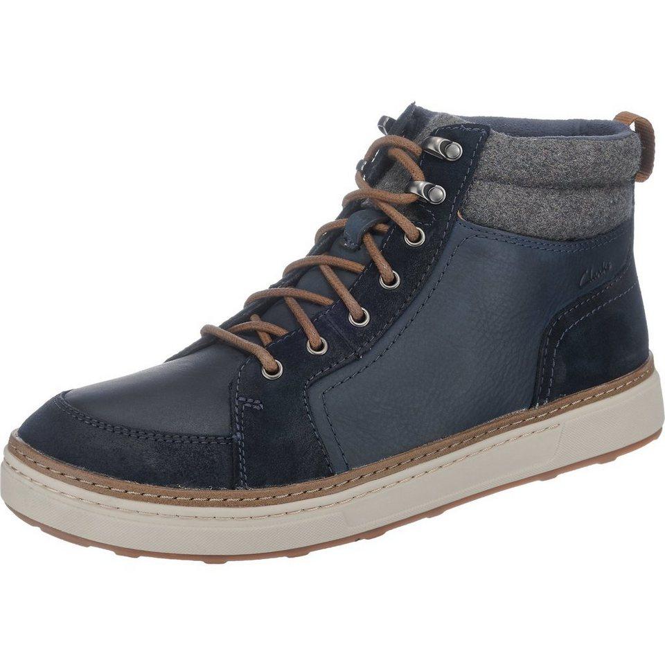 Clarks Lorsen Top Sneakers in navy