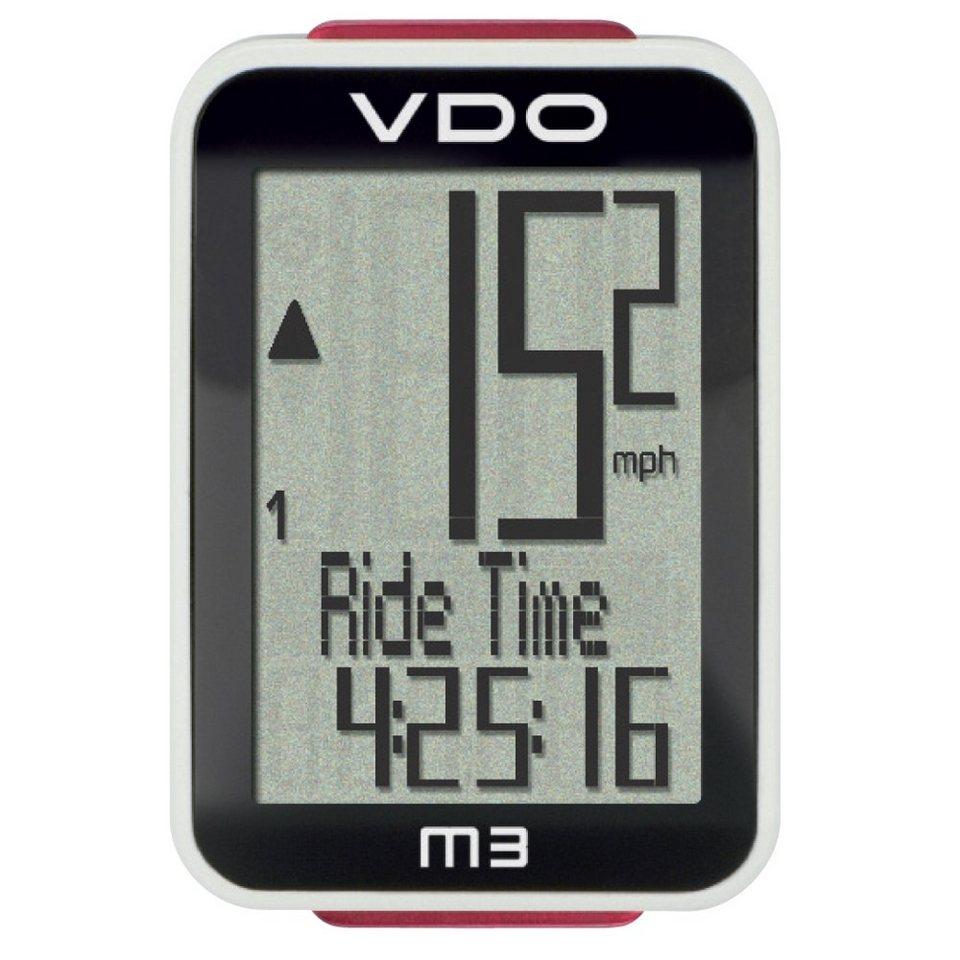 VDO Fahrradcomputer »M3 WL Fahrradcomputer Digital Funk«