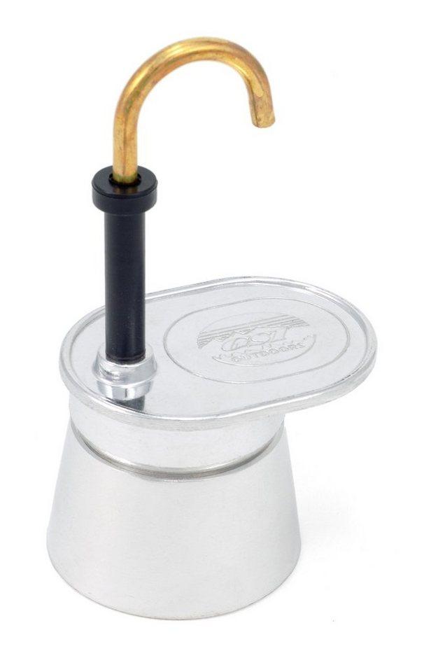 GSI Camping-Geschirr »Mini Expresso Aluminium 1 Cup« in silber