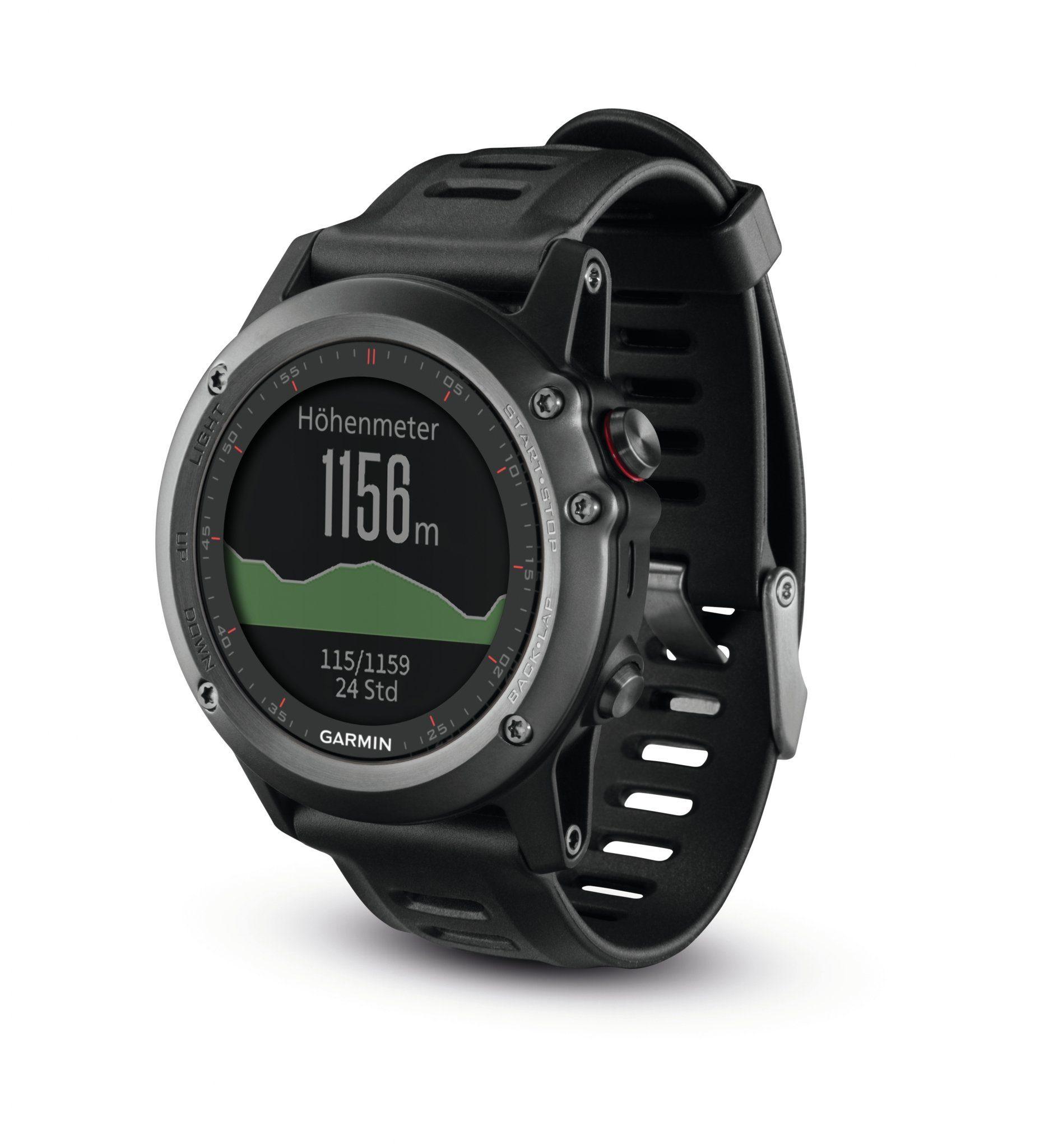 Garmin Sportuhr »Fenix 3 GPS Multisportuhr«