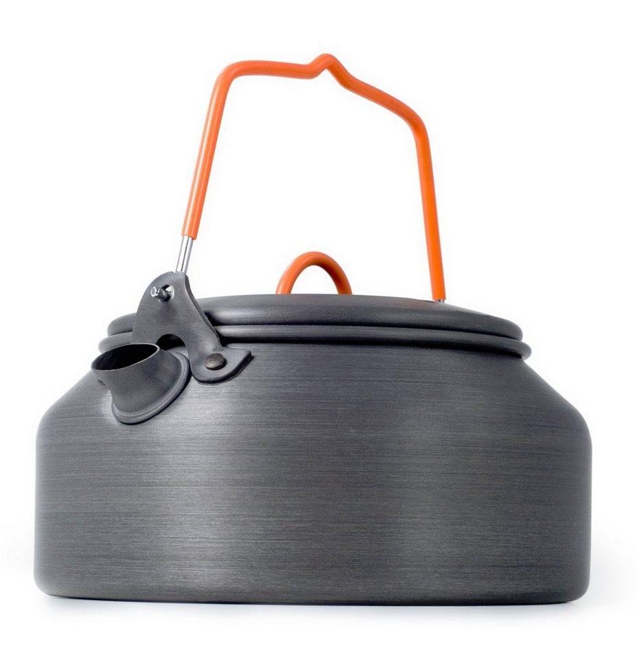 GSI Camping-Geschirr »Tea Kettle Halulite 1000ml« in grau