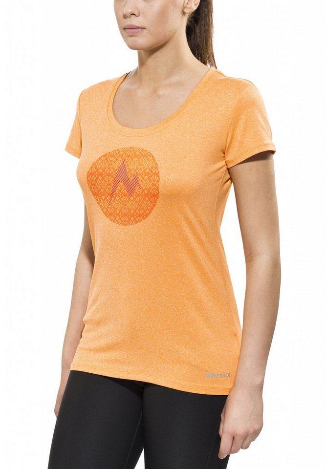 Marmot T-Shirt »Post Time Tee SS Women« in orange