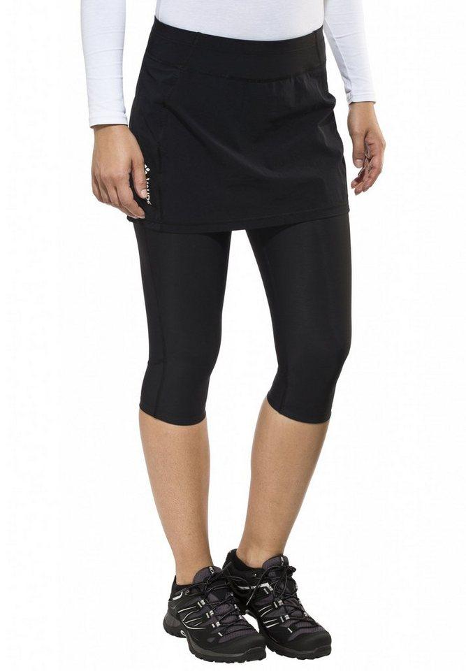 VAUDE Rock »Scopi Skirt Women« in schwarz