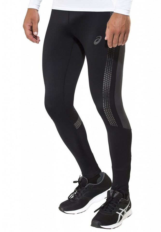 asics Laufhose »Lite-Show Winter Tight Men« in schwarz