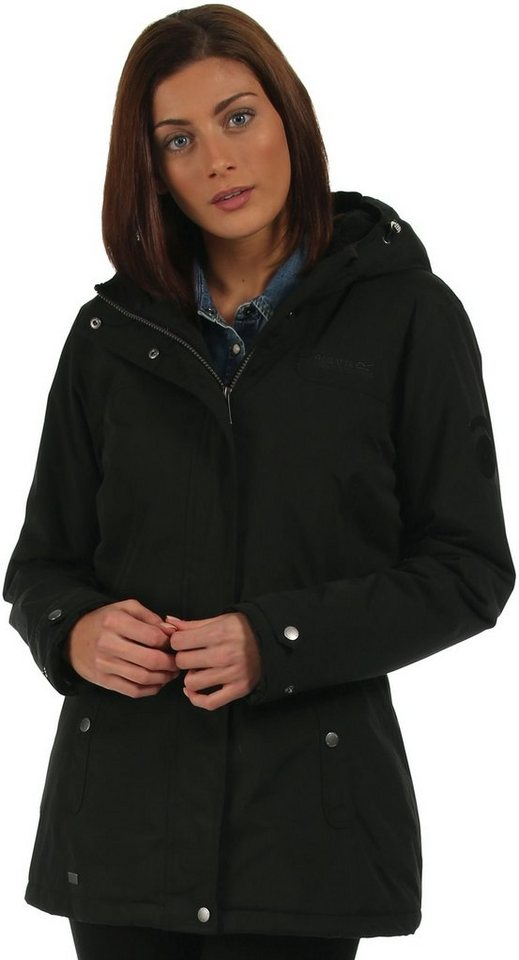 Regatta Regenjacke »Brodiaea Jacket Women« in schwarz