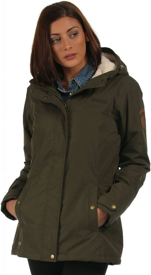 Regatta Regenjacke »Brodiaea Jacket Women« in oliv