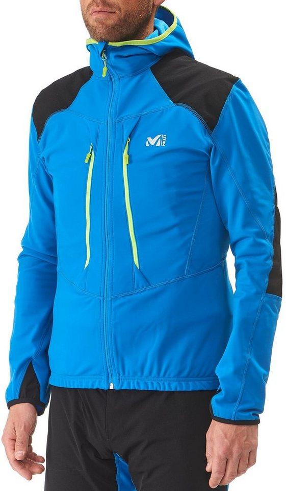Millet Softshelljacke »Pierra Ment Jacket Men« in blau