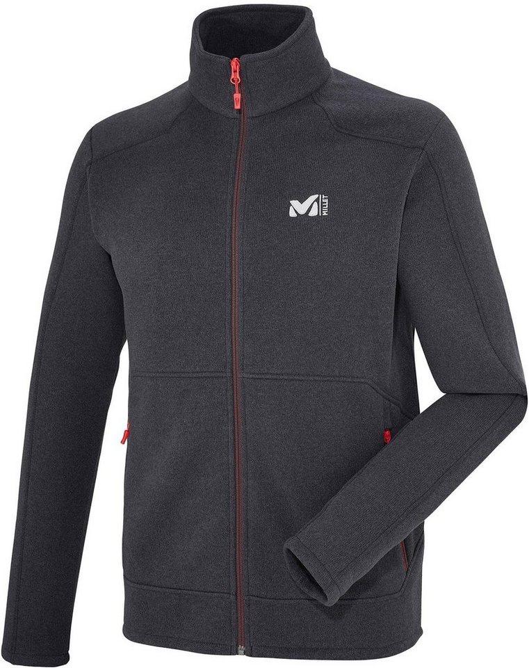 Millet Outdoorjacke »Hickory Fleece Jacket Men« in schwarz