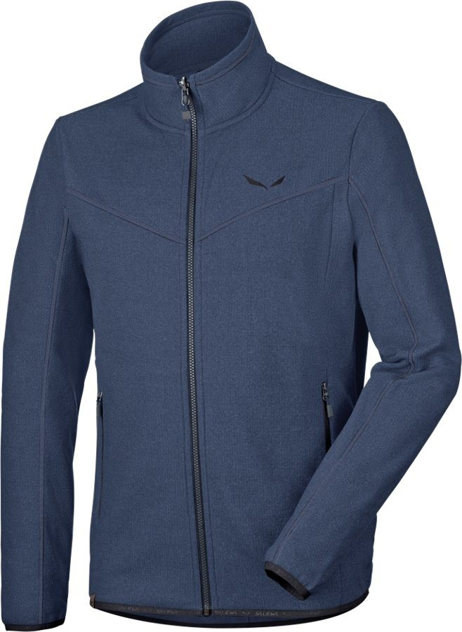 Salewa Outdoorjacke »Fanes PL Full Zip Jacket Men« in blau