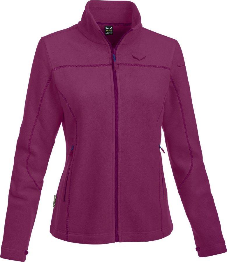Salewa Outdoorjacke »Fanes Buffalo PL Full Zip Jacket Women« in lila