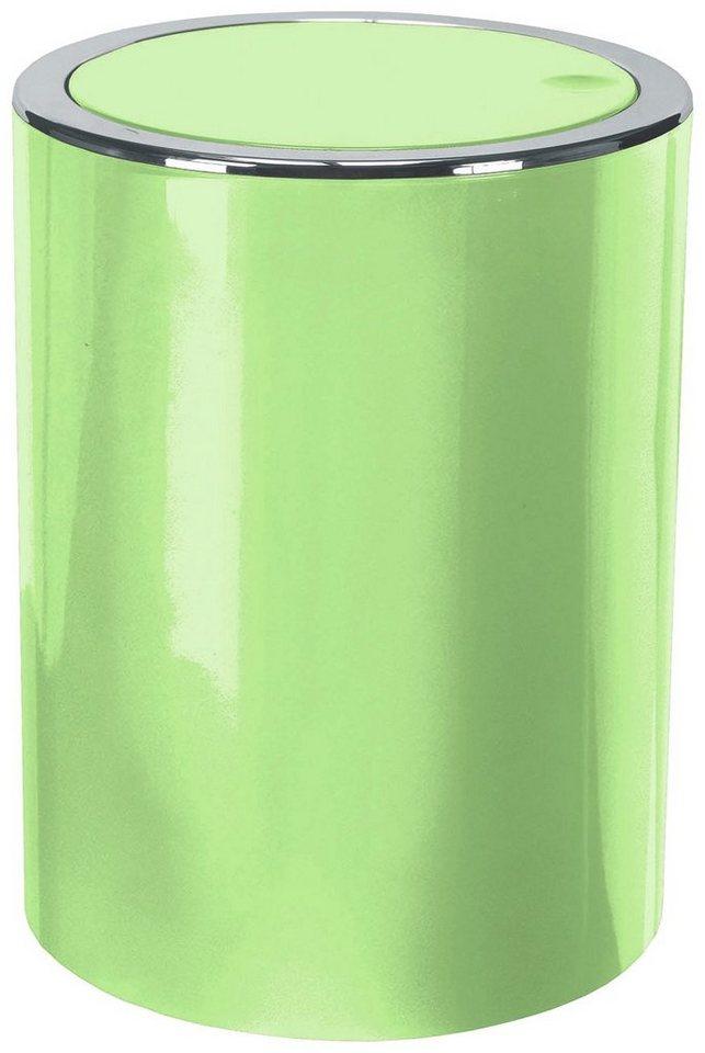 Schwingdeckel-Abfalleimer »Clap« in hellgrün
