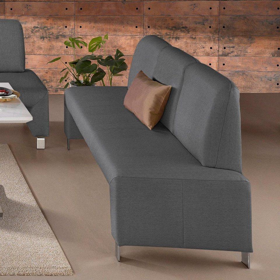 gala collezione 3er bank mit r ckenlehne kaufen otto. Black Bedroom Furniture Sets. Home Design Ideas