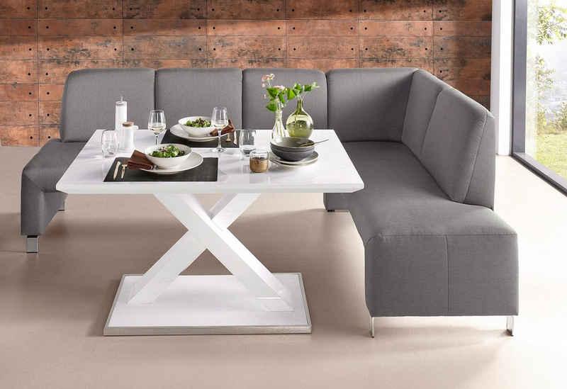 exxpo - sofa fashion Eckbank »Intenso«, Frei im Raum stellbar
