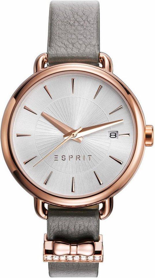 Esprit Quarzuhr »ESPRIT-TP10940 TAUPE, ES109402003« in taupe