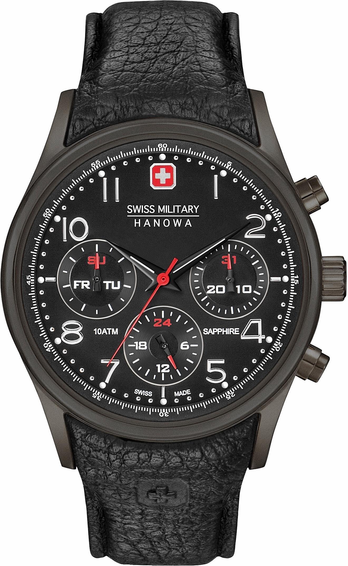 Swiss Military Hanowa Multifunktionsuhr »NAVALUS MULTIFUNCTION, 6-4278.13.007«