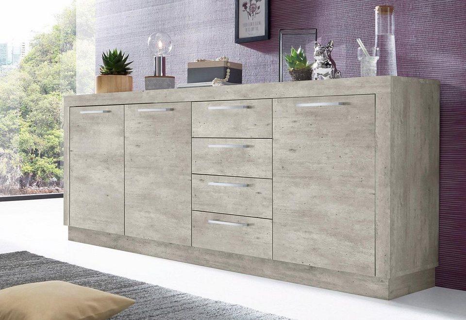 sideboard breite 200 cm online kaufen otto. Black Bedroom Furniture Sets. Home Design Ideas