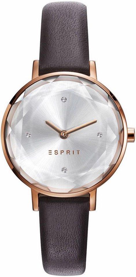 Esprit Quarzuhr »ESPRIT-TP10931 BROWN, ES109312003« in braun