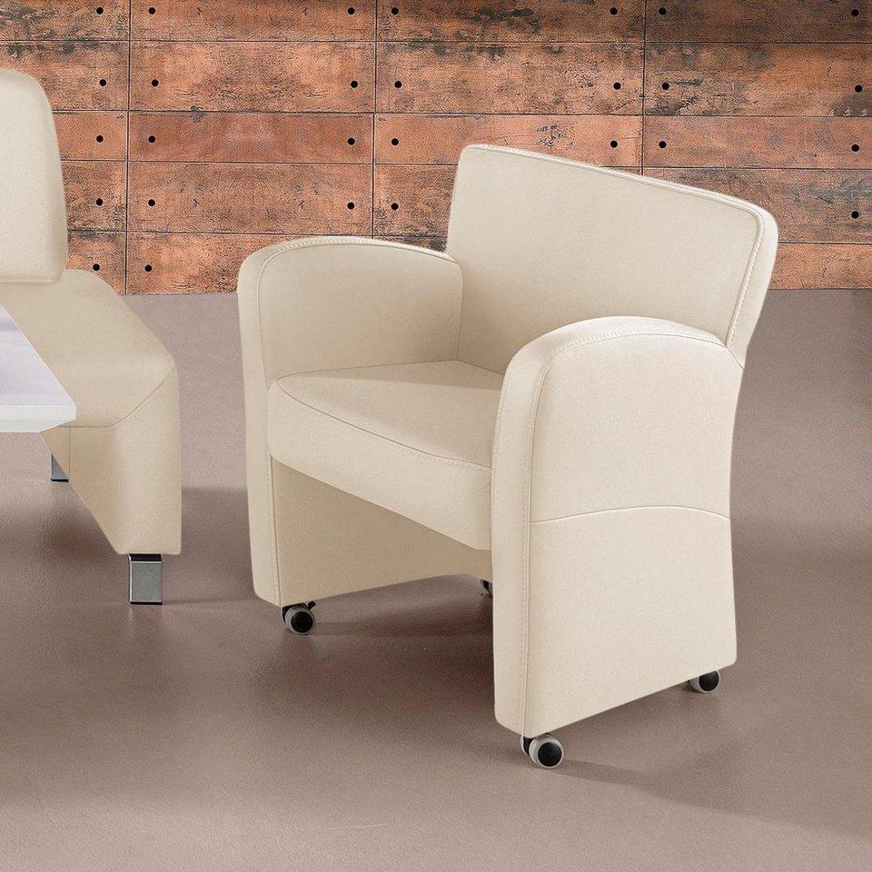 Gala Collezione Sessel in Luxus-Kunstleder