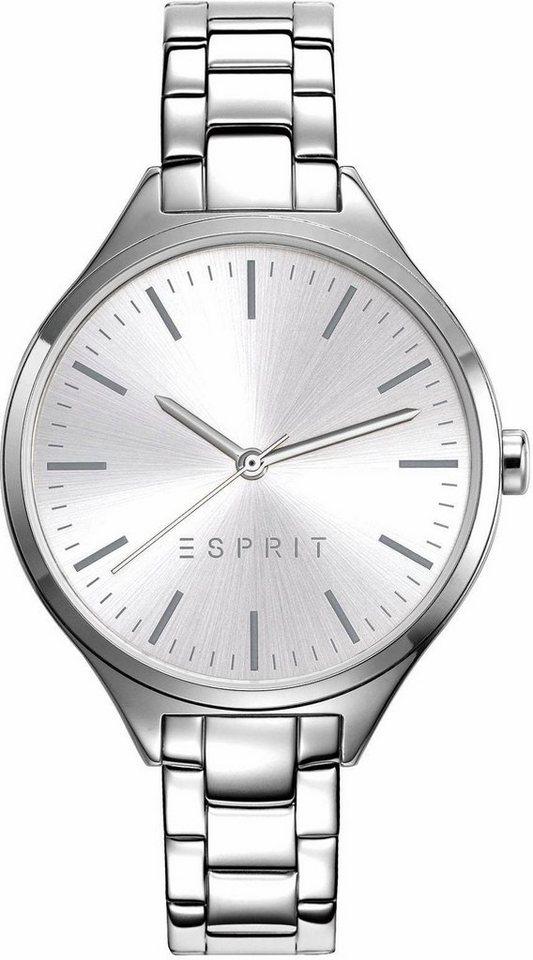 Esprit Quarzuhr »ESPRIT-TP10927 SILVER, ES109272004« in silberfarben
