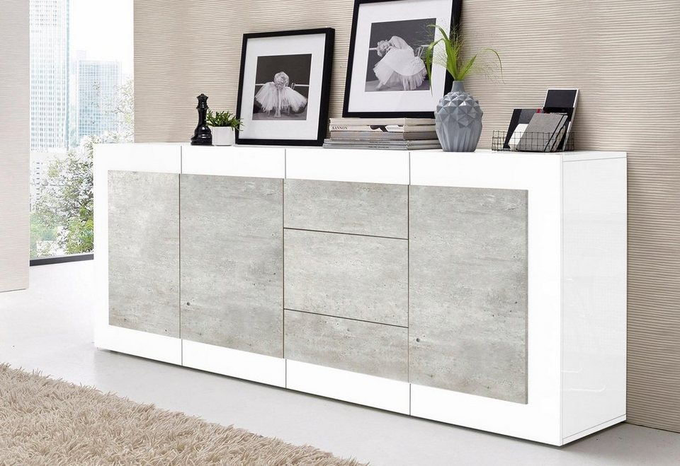 tecnos sideboard breite 200 cm online kaufen otto. Black Bedroom Furniture Sets. Home Design Ideas