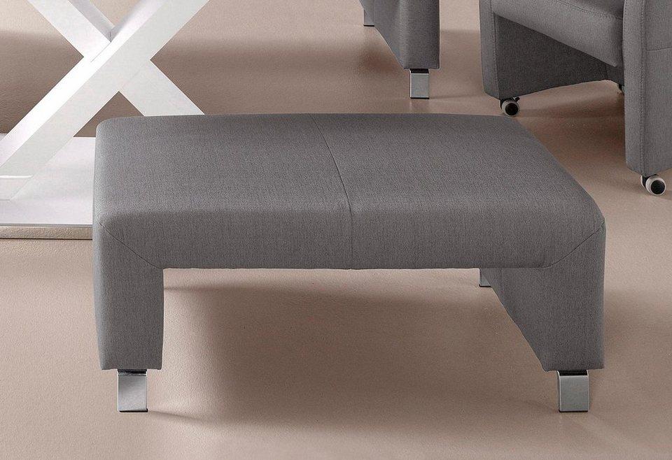 exxpo sofa fashion Hocker Gestell aus Massiv Holz