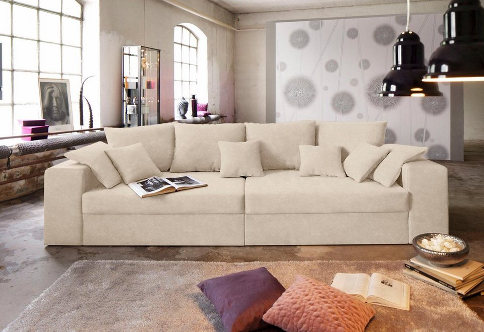 big sofa wahlweise in xl oder xxl online kaufen otto. Black Bedroom Furniture Sets. Home Design Ideas