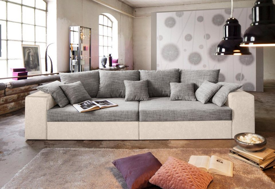 Cool Fabulous Perfect Bigsofa Wahlweise In Xl Oder Xxl With Big Sofa With  Xxl Big Sofa With Brostuhl Julia