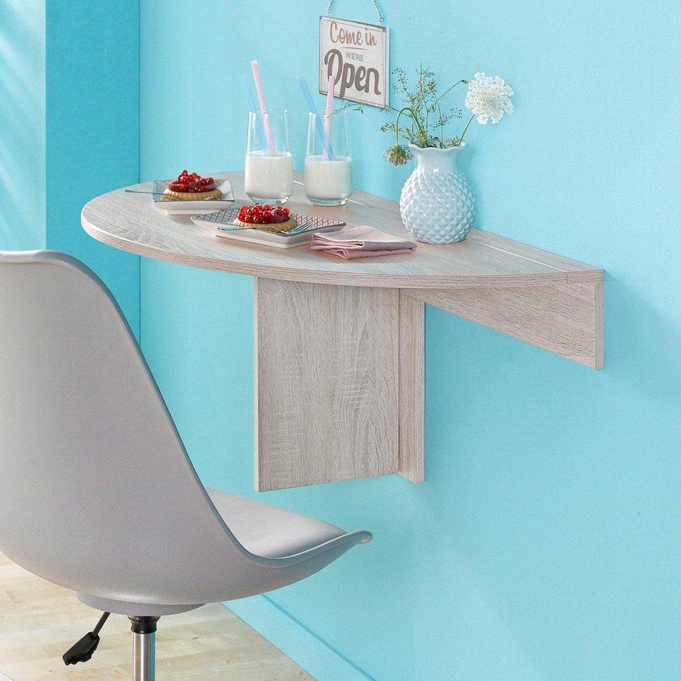 wandklapptisch breite 80 cm online kaufen otto. Black Bedroom Furniture Sets. Home Design Ideas